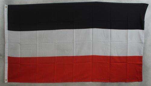 Deutsches Kaiserreich Flagge Großformat 250 x 150 cm wetterfest Fahne