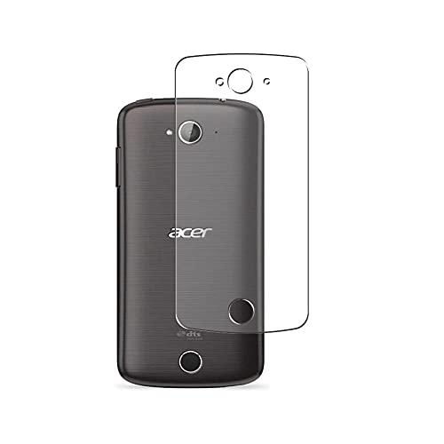 Vaxson 2 Stück Rückseite Schutzfolie, kompatibel mit Acer Liquid Z530, Backcover Skin TPU Folie [nicht Panzerglas/nicht Front Bildschirmschutzfolie]