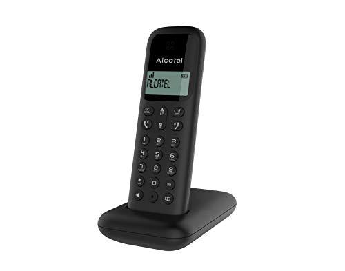 Alcatel DEC D285 teléfono inalámbrico, Negro (3700601421385)