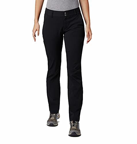 Columbia Saturday Trail Pantalón para Mujer, Negro (Black), W6/R