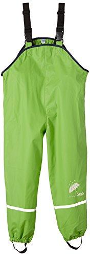 Sterntaler Baby-Jungen ungefüttert Regenhose, Grün (Grün 254), One Size (Herstellergröße: 74)