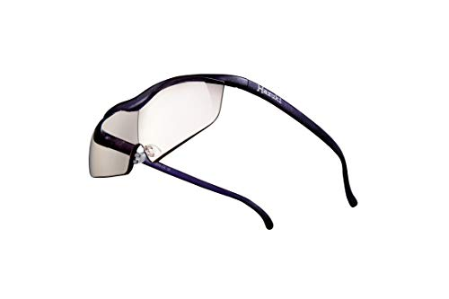 Hazuki ハズキルーペ 直営店 公式店 限定 倍率交換保証付き ラージ 1.6倍 カラーレンズ 紫 ハズキ 拡大鏡 ルーペ メガネ型 眼鏡型 めがね型 メガネ 眼鏡 めがね 日本製 MADE IN JAPAN ギフト