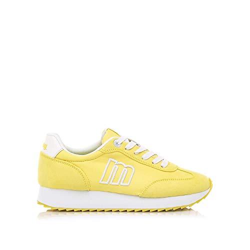 MTNG Gisele Sneaker Damen Gelb - 39 - Sneaker Low Shoes
