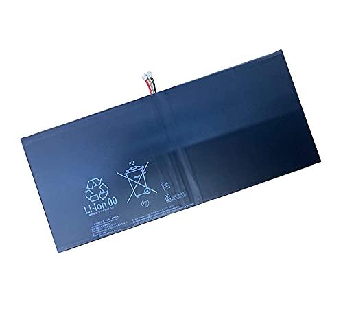 互換 sony lis2206erpc 22.82wh 互換用の バッテリー 適用される for sony xperia tablet z2 sgp511 512 521 541 castor sot21 1277-3631 交換用タブレットの バッテリー 電池 SONY LIS2206ERPC 6000mAh 交換用の 電池