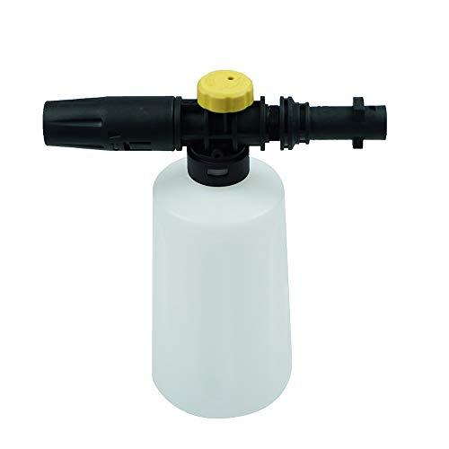 KKmoon auto hogedrukreiniger schuimpistool schuimlans sneeuwschuim lans voor Kärcher K2 K3 K4 K5 K6 K7 zeepschuimgenerator met instelbare sproeikop 750 ml