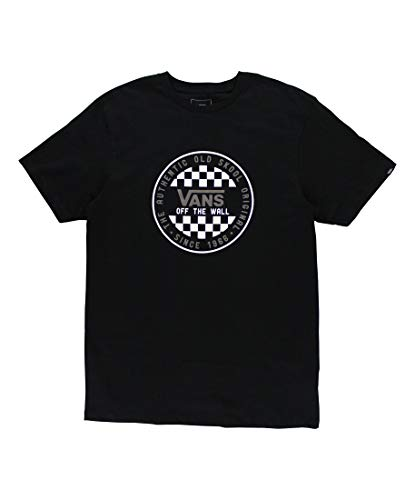Vans OG Checker SS Camiseta, Negro, L para Hombre