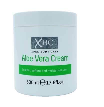 Pack de 3, XBC Crema Hidratante Vitamina E 500ml (Aloe Vera)