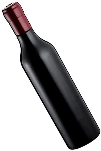 TEPET Molinillo de Sal y Pimienta, Juego de Regalo, Molinillo de Pimienta, Botella de Vino de imitación, Molinillo de Pimienta de Madera de Haya, Suministros de Cocina de Madera Oscura