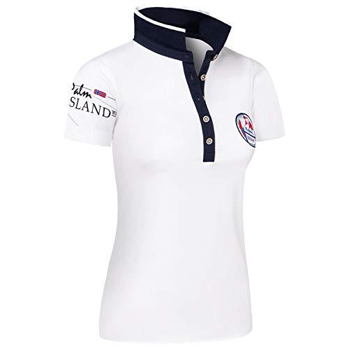 Nebulus Poloshirt PAITAS Damen, weiß - L (40)