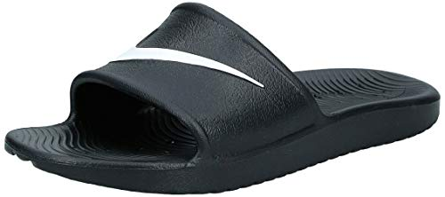 Nike Herren Kawa Shower Dusch-& Badeschuhe (Black/White), 42.5 EU