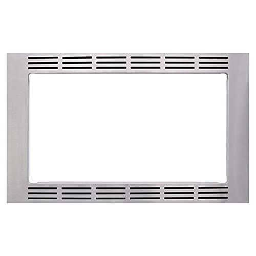 Panasonic 30-inch Trim Kit, Stainless Steel, for use with 2.2 cu ft Microwave Ovens – NN-TK932SS