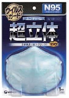 【ユニ・チャーム】ユニチャーム 超立体ウィルスガード N95 1枚入り ×5個セット
