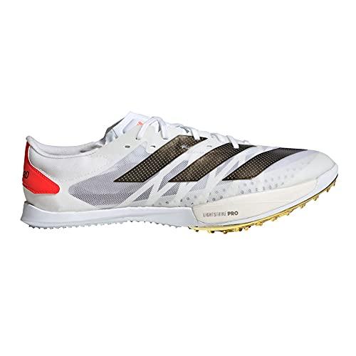 adidas Adizero Ambition,  Zapatillas de Atletismo Unisex Adulto,  FTWBLA/NEGBÁS/Rojsol,  39 1/3 EU
