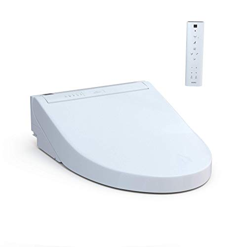 TOTO SW3084#01 WASHLET C5 Electronic Bidet Toilet Seat with PREMIST and EWATER+ Wand Cleaning, Elongated, Cotton White
