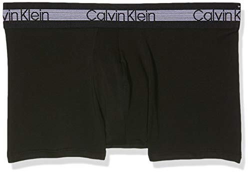 Calvin Klein Trunk 3PK Boxer, Negro (Black 001), S para Hombre