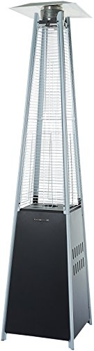 AmazonBasics Outdoor Pyramid Patio Heater, Black