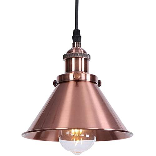 NAMFHZW Lámpara Colgante de Hierro Forjado Chino Candelabro Simple Paraguas Creativo Lámpara Colgante Comedor Luz de Techo Sala de Estar Dormitorio Luz de Techo Creativa Decoración