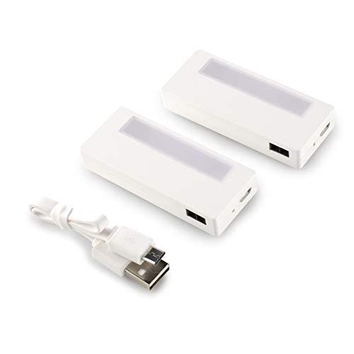 Smartwares LED-Schrankbeleuchtung, 2er-Set, Schrankbeleuchtung ohne Bohren oder Schrauben, ISL-60022