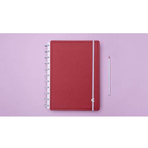 Caderno Inteligente Grande Vermelho Cereja CIGD4049 28072