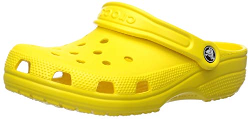 Crocs Kids' Classic Clog, Lemon, 6 M US Toddler