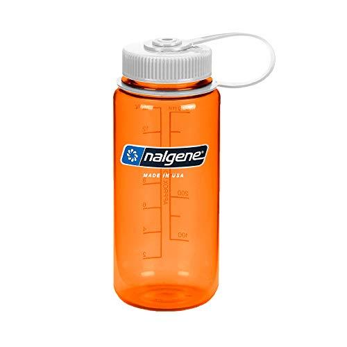 Nalgene Trinkflasche Wide Mouth 0.5L, Orange, One Size/16 oz/500 mL