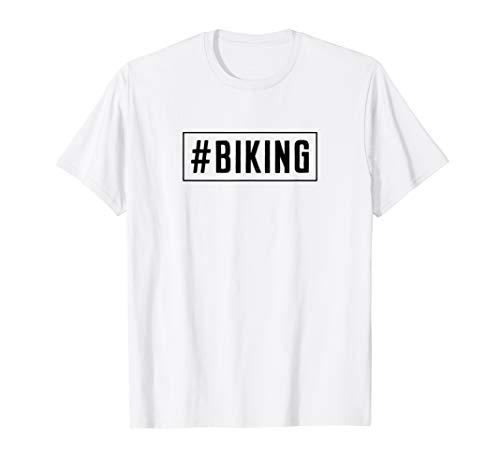 Biking #Biking Downhill Mountain Bike MTB Mountain T-Shirt