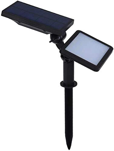 Garden Solar Spotlights, LED Solar Spotlight, waterdicht buiten Beveiliging Landschap van de Tuin Lampen, for Patio Lawn Tree Yard Garden