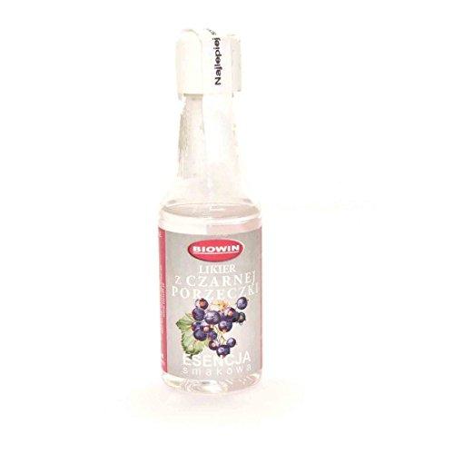 SCHWARZE JOHANNISBEERE - Wodka Aroma Essenz Konzentrat Vodka Fusel Turbohefe / 40ml Für 4L Alkohol…