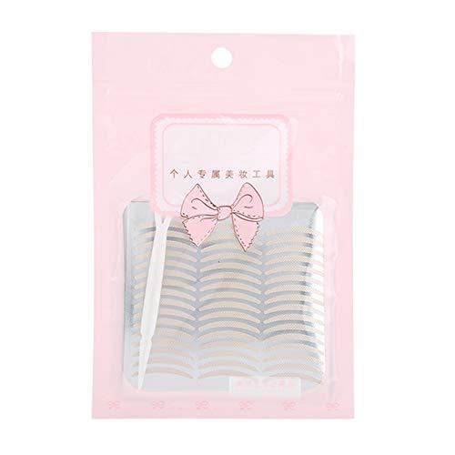 Cadeau D'Avril Le type net de bande de paupière double de longueur mince de filet a des yeux des outils cosmétiques de maquillage d'oeil