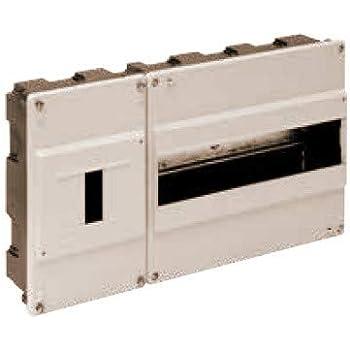 Solera 680 - Caja para ICP y distribución. ICP de 1 a 4 elementos y hasta 40A. 348x188x55.Marfil. Empotrar.: Amazon.es: Bricolaje y herramientas