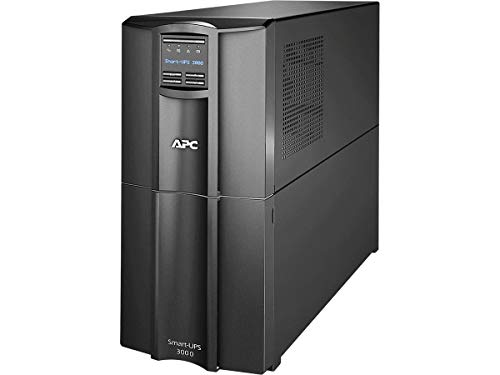 APC Smart-UPS 3000VA UPS Battery Backup with Pure Sine Wave Output...