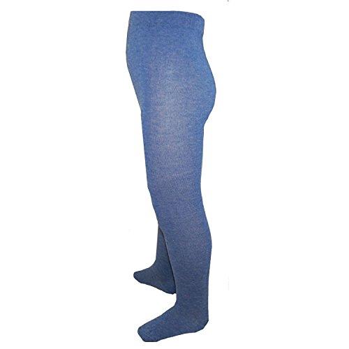 RIESE STRÜMPFE - Strumpfhosen Jungen einfarbig, blau, Größe 98-104