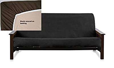 Octorose ® Full Size Bonded Micro Suede Easy Fit Fitted Futon Cover Sofa Mattress Slipcovers