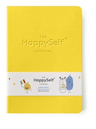HappySelfJournal- Il pluripremiato diario giornaliero per bambini di età compresa tra 6 e 12 anni per promuovere la felicità, sviluppare abitudini positive e nutrire le menti curiose [Italiana]
