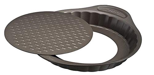 Pyrex Asimetria Backform, Metall, Schokoladenbraun, 25 cm