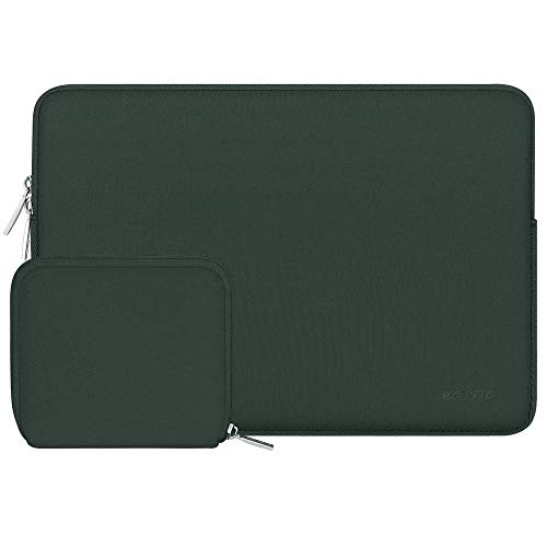 Practical Newest Laptop Sleeve Bag For Macbook 11.6 12 13.3 14 15.6 Inch Notebook Case Cover Computer Sleeve (Color : Green, Size : New Pro 15 Touch Bar)