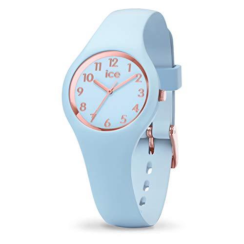 Ice-Watch - ICE glam pastel Lotus - Orologio blu da Donna con Cinturino in silicone - 015345 (Extra small)