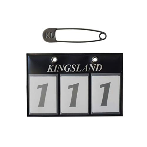 Kingsland Startnummern Classic, Navy, Farbe:Navy