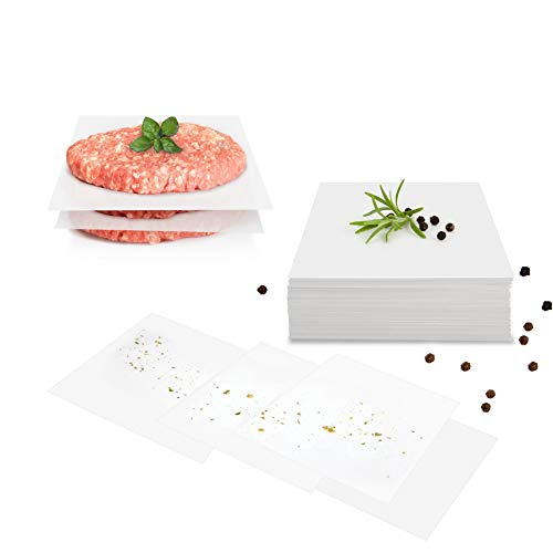 GOURMEO Burger Discs, 500 Pieces (500, 14x14 cm)