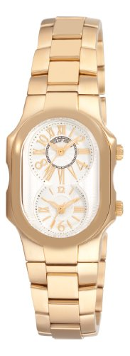 Philip Stein Women's 1GPMWGSSGP Signature Yellow Goldtone Silver Dial Watch
