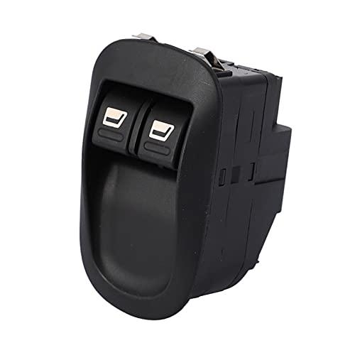WLLOVE WULE Interruptor de la Ventana de energía eléctrica Adecuada para Peugeot 206 96316306xt (Color : Black)