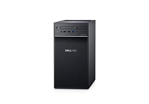 Dell PowerEdge T40 Tower Server - Intel Xeon E-2224G Quad-Core Processor up to 4.7 GHz, 32GB DDR4 Memory, 2TB (RAID 1) SATA Hard Drive, Intel UHD Graphics P630, DVD Burner, No Operating System