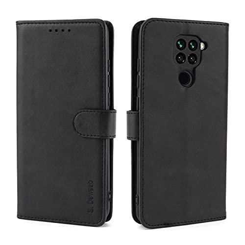 S. Dawezo Funda Xiaomi Redmi Note 9 Tapa, PU Cuero Libro Funda...