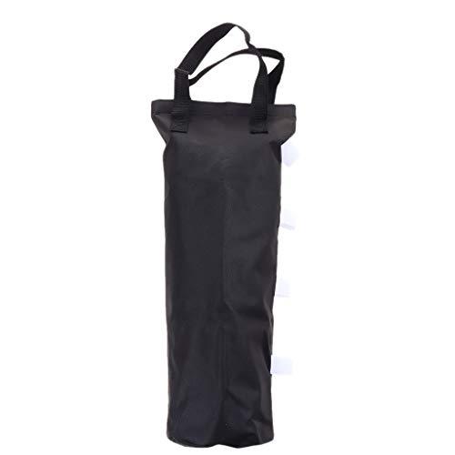 Générique Baoblaze Sac de Poids pour Parapluie Portatif - Attache Noir + Blanc, 50x22,5cm