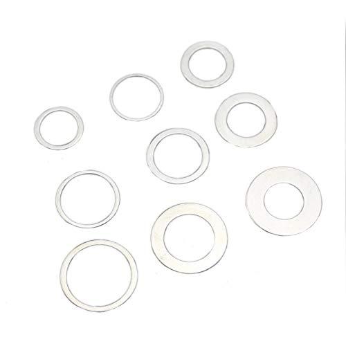 QINGRUI Seal Kit 20/22,2/25,4/30-16mm 22.2/25.4/30-20mm 25.4-22.2mm 30-25.4mm Adaptador Arandela for Hoja de Sierra Anillos Adaptador de transitorios for Las Sierras de Disco Strong and Sturdy