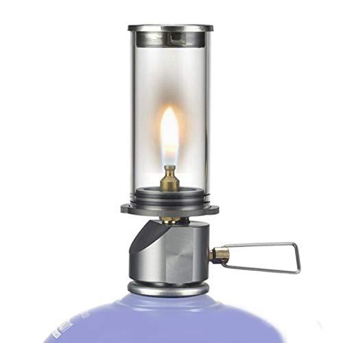 Clenp Lanterna A Gas da Campeggio, BRS-55 Lampada A Candela da Sogno Bruciatore A...