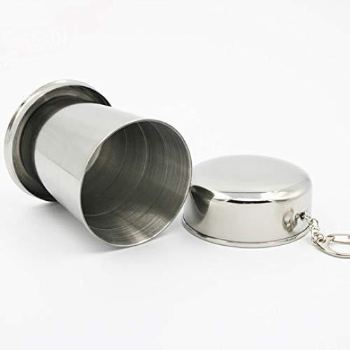 SUNHAO Tasse en Acier Inoxydable Fournitures de bureau pliante inox retrait coupe haute qualité inox télescopique coupe extérieur