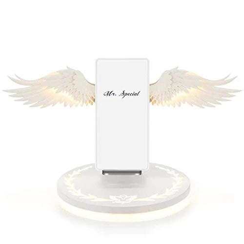 promise2301 2019 nieuwe snelle 10W engelenvleugel-draadloze oplader compatibel iPhone X/Xr/Xsmax Samsung HuaWei Xiao MI