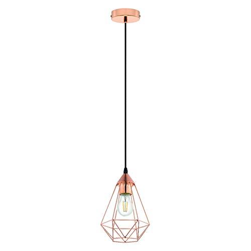 INSPIRE BYRON - Lámpara de techo (metal, 17,5 cm de diámetro)