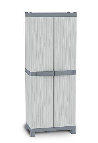 Terry 28318-30 Domino Base-3700 Schrank mit Trennwand, 70x44x182cm